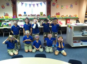 Kindergarten - Having fun!